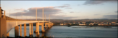 Kessock Bridge, Inverness. Picture by Iain Maclean