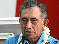 Oscar Temaru (file image)