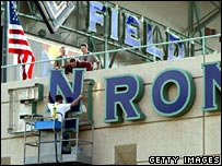 Enron sign