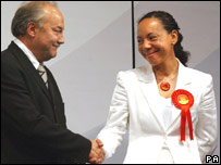 George Galloway and Oonah King