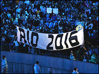 Rio are among the seven nations bidding to host the 2016 Games