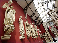 Casts of sculptures on show at Museum of French Monuments