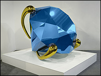 Blue Diamond by Jeff Koons