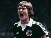 Scotland goalscoring legend Kenny Dalglish