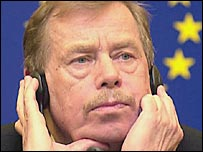 Ex-Czech Republic President Vaclav Havel