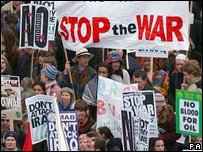 February 2003 Stop the War demonstration