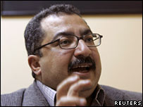 Ibrahim Issa, editor of Egyptian daily Al Dustour