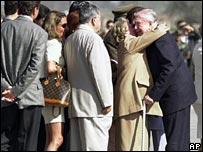 Pinochet arrives in Chile
