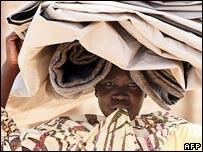 Víctima de las inundaciones en Sudán