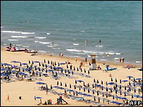 Italian beach - file photo