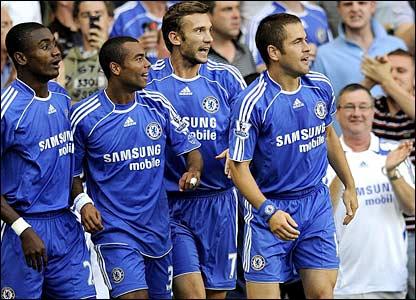 Chelsea celebrate in vain