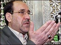 Muri al-Maliki, primer ministro de Irak
