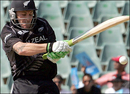 New Zealand batsman Berndon McCullum