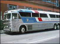 Один из автобусов Greyhound (архивное фото)