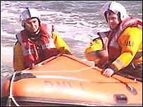 Mumbles inshore lifeboat (library)