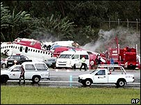 Plane crash at Phuket