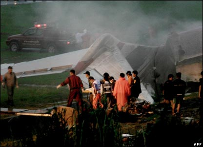 Thai crash site