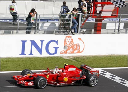 Kimi Raikkonen wins the Belgian Grand Prix