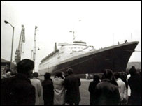 QE2, courtsey of National Archives of Scotland