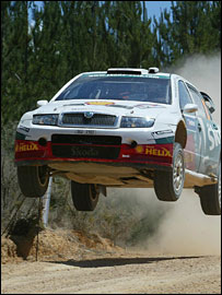 McRae's fearless driving earned him millions of fans across the world