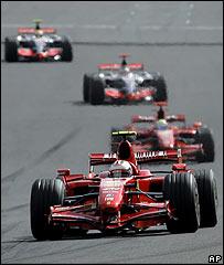 El regreso de la F1 a B�lgica no depar� drama ni emoci�n.