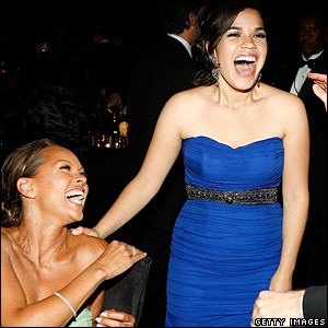 Vanessa Williams (l) and America Ferrera