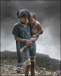 Poor children in India