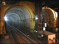The Brunel tunnel