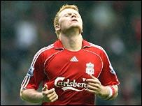 Liverpool's John Arne Riise