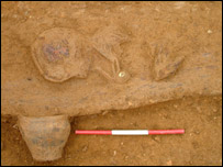 An earlier Bronze Age site found in Cambridgeshire