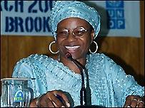 Christina Thorpe (photo: UNDP)