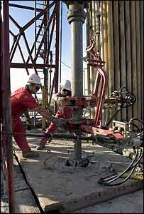 Oil drilling in Uganda (Photo: Tullow Oil)