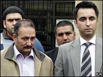 Mohammed Siddique senior and Aamer Anwar