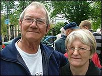 Mick and Beryl Watton