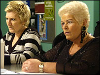 Pat and Shirley in EastEnders