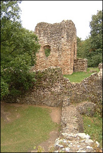 Ewloe Castle (copyright Flintshire Countryside Service)