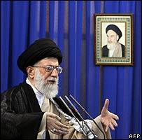 El líder supremo de Irán, el Ayatollah Ali Khamenei (14/09)