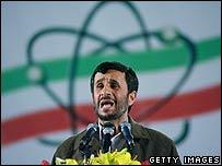 El presidente de Irán, Mahmoud Ahmadinejad (foto de archivo)