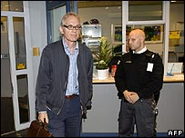 Swedish cartoonist Lars Vilks