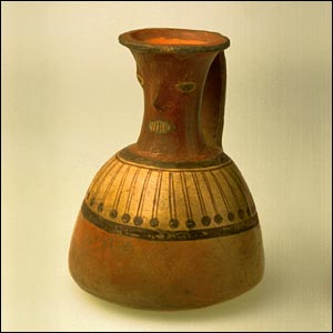Inca bottle (Yale Peabody Museum)