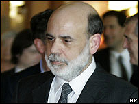 Ben Bernanke, presidente de la Reserva Federal