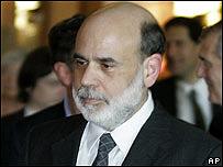 Ben Bernanke, presidente de la Reserva Federal de EE.UU.