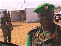 General Martin Luther Agwai in Darfur