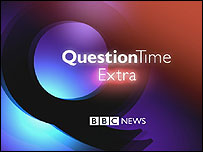 Question Time Extra logo