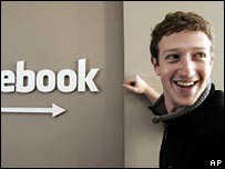 Fundador de Facebook, Mark Zuckerberg