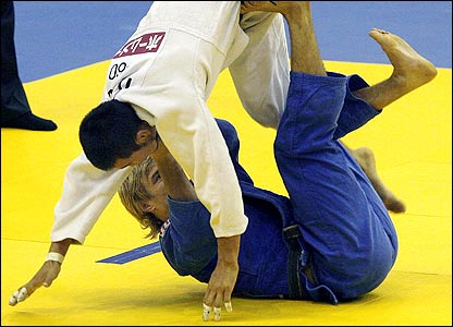Judo action from Brazil