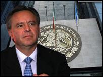 El Procurador General de la República, Eduardo Medina Mora