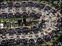 A housing estate in north-west London