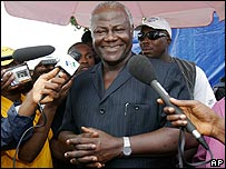 Sierra Leone's President Ernest Bai Koroma