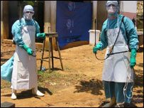 Spray team to deal with deadly viruses